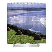 Inch Beach, Co Kerry, Ireland Shower Curtain