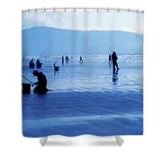 Inch Beach, Dingle Peninsula, County Shower Curtain