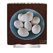 Incipient Egg Salad Shower Curtain