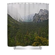 Incoming Storm Shower Curtain