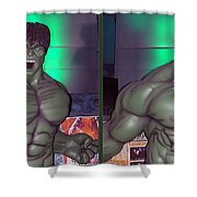 Incredible - Gently Cross Your Eyes And Focus On The Middle Image Shower Curtain