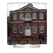 Independence Hall Philadelphia I Shower Curtain