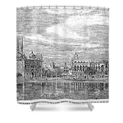 India: Golden Temple, 1858 Shower Curtain
