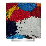 Indian Beads Shower Curtain