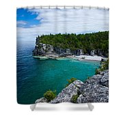Indian Head Cove Shower Curtain