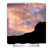Indian Head New Hampshire Shower Curtain