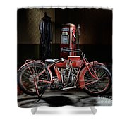 Indian Hedstrom Shower Curtain