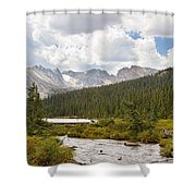 Indian Peaks Summer Day Shower Curtain