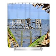 Indian River Roost Shower Curtain