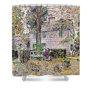 Indian Summer In Colonial Days Shower Curtain by Childe Hassam
