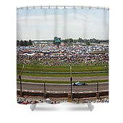Indianapolis Race Track Shower Curtain