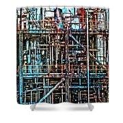 Industrial Disease Shower Curtain