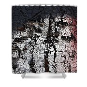 Industrial Painting Shower Curtain