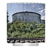 Industrial Tank Shower Curtain