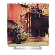 Industry In Disarray Shower Curtain