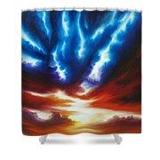 Infinity II Shower Curtain