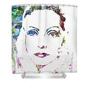 Ingrid Bergman  Shower Curtain