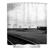 Inner City - Touching The Sky Shower Curtain