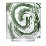 Inner Hurricane Shower Curtain