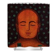 Inner Visions Shower Curtain by Gloria Rothrock