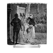 Inquisition: Torture Shower Curtain