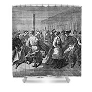 Insane Asylum: Dance Shower Curtain