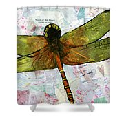 Insect Art - Voice Of The Heart Shower Curtain