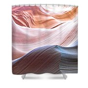Inside Lower Antelope Canyon Shower Curtain
