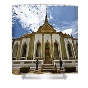 Inside The Grand Palace Bangkok Image 2 Shower Curtain