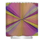 Inside The Rainbow Shower Curtain