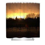 Insomnia II Shower Curtain