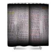 Inspirations 16 John 1 V14 Shower Curtain
