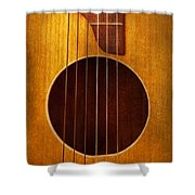 Instrument - Guitar - Let's Play Some Music  Shower Curtain
