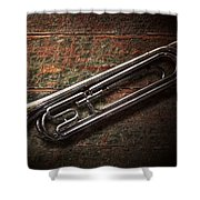 Instrument - Horn - The Bugle Shower Curtain