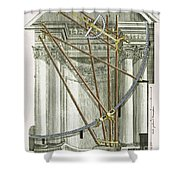 Instruments From A Viennese Observatory Shower Curtain