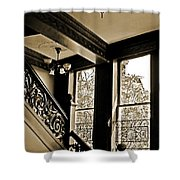 Interior Elegance Lost In Time Shower Curtain by DigiArt Diaries by Vicky B Fuller