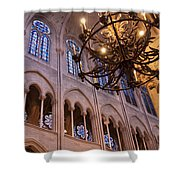 Interior Notre Dame Cathedral Shower Curtain