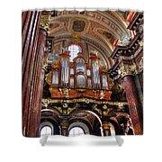 Interior St Stanislaus Church - Posnan Shower Curtain