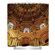 Interiors Of A Cathedral, St. Finbarrs Shower Curtain