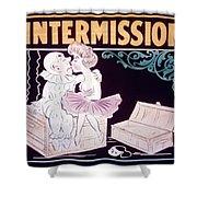 Intermission Slide Shower Curtain