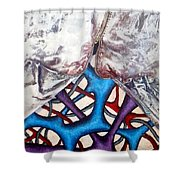 Internally Unzipped Detail Shower Curtain