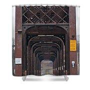 International Bridge 9671 Shower Curtain