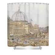 International Exhibition Shower Curtain by Edward Sheratt Cole