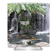 International Marketplace - Waikiki Shower Curtain