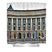 Interstate Commerce Commission Shower Curtain