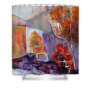 Intimiste Shower Curtain by Francoise Dugourd-Caput