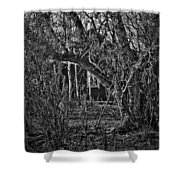 Into The Wilderness Shower Curtain
