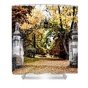 Inver House - Radnor Pa Shower Curtain