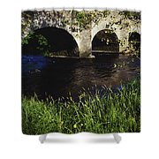 Ireland Bridge Over Water Shower Curtain