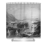 Ireland: Clew Bay, C1840 Shower Curtain